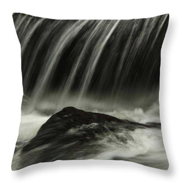 Waterfall Throw Pillow by AR Annahita