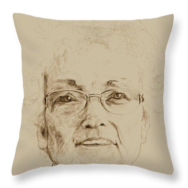 Wava Throw Pillow by PainterArtistFINs Husband MAESTRO