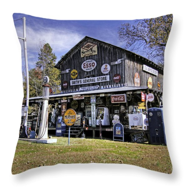 Way Back When....... Throw Pillow by Benanne Stiens