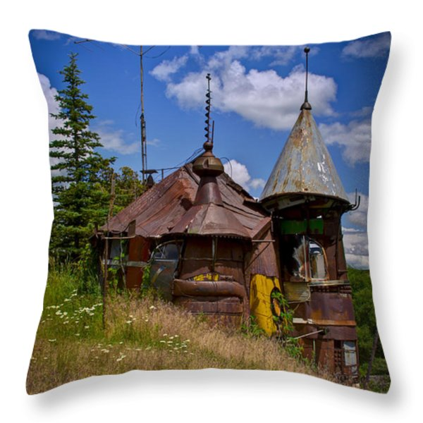 We Are Not In Kansas Anymore Throw Pillow by David Patterson