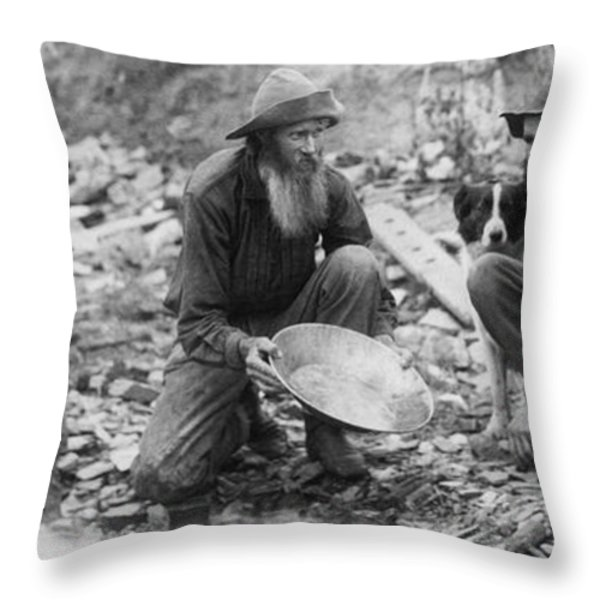 We Have Nothing Circa 1889 Throw Pillow by Aged Pixel