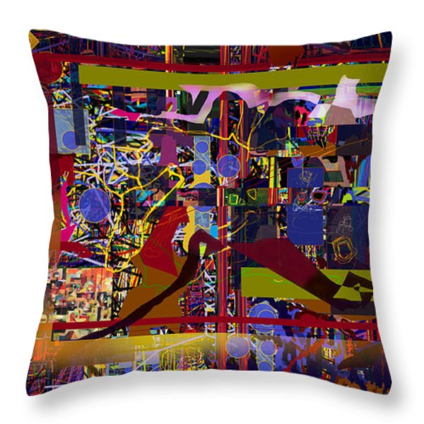 We Will Have To See 1hb Throw Pillow by David Baruch Wolk