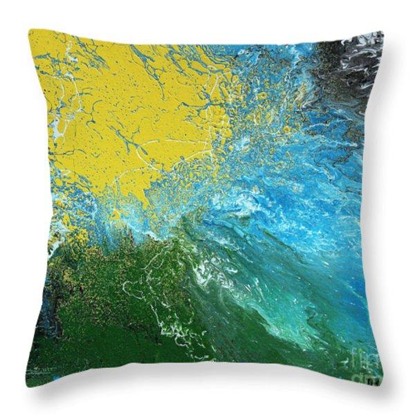 Weather Throw Pillow by Jutta Maria Pusl