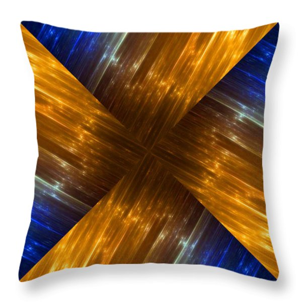 Weave Throw Pillow by Cheryl Young