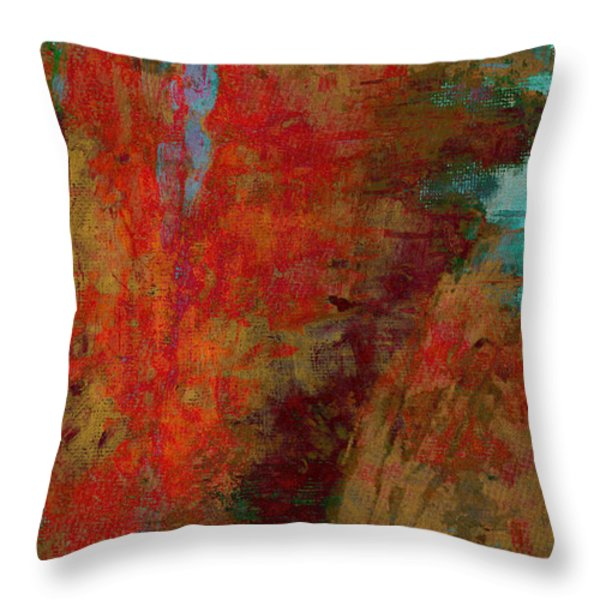 Weighed In The Balance Throw Pillow by Brett Pfister