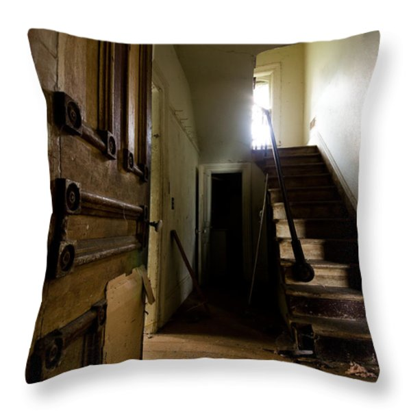 Welcome Home Throw Pillow by Cale Best