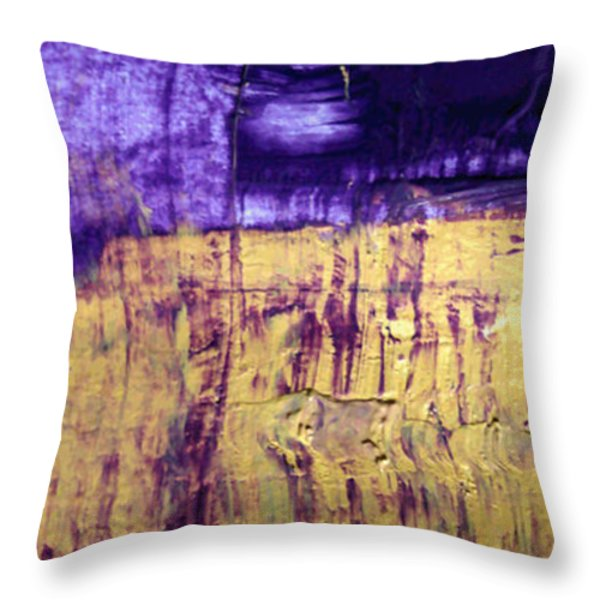 What May Happend Acryl Throw Pillow by Sir Josef  Putsche