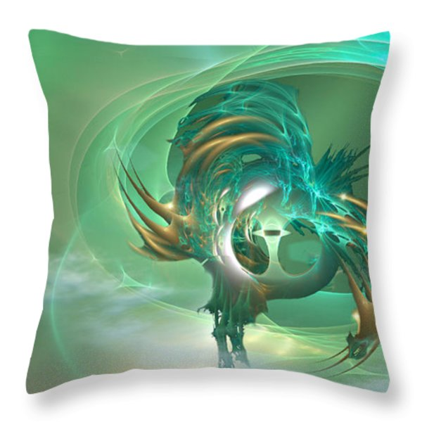 What The .... Throw Pillow by Phil Sadler