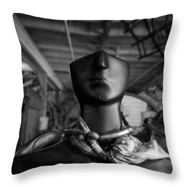 What Will Become Of The Watcher Throw Pillow by Bob Orsillo