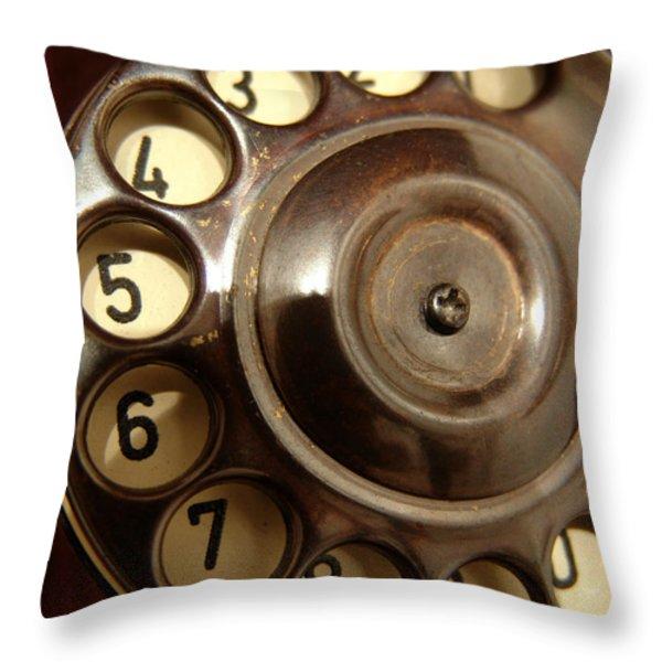 Wheel Throw Pillow by Alessandro Della Pietra