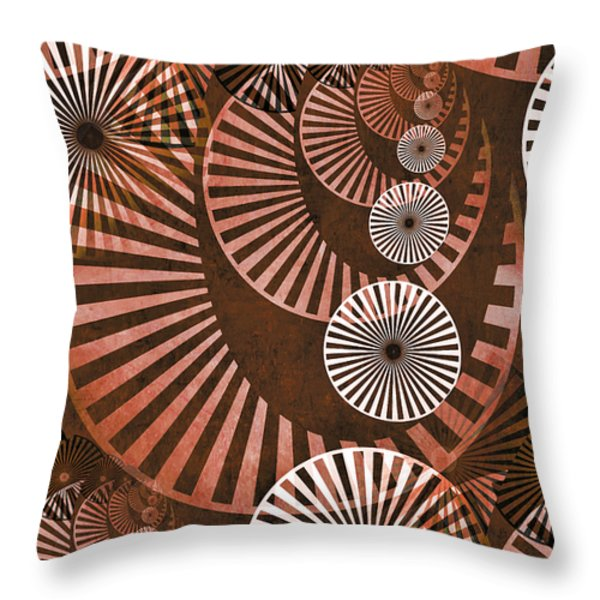 Wheel In The Sky 2 Throw Pillow by Angelina Vick