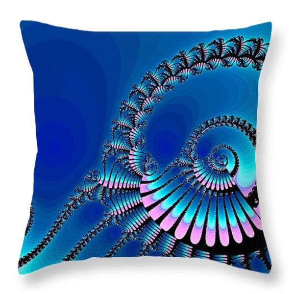 Wheel of Fortune Throw Pillow by Anastasiya Malakhova