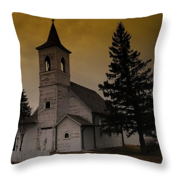 WHEN HEAVEN IS YOUR HOME Throw Pillow by Jeff  Swan