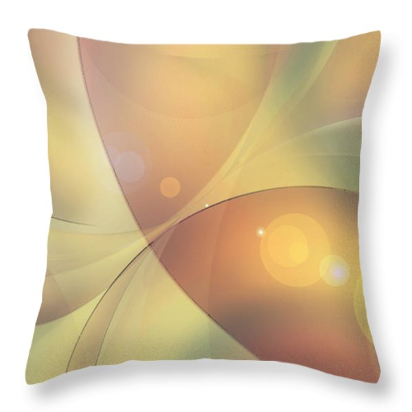 When Small Worlds Collide Throw Pillow by Ginny Schmidt
