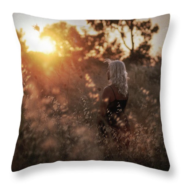 Where We Start Throw Pillow by Taylan Soyturk