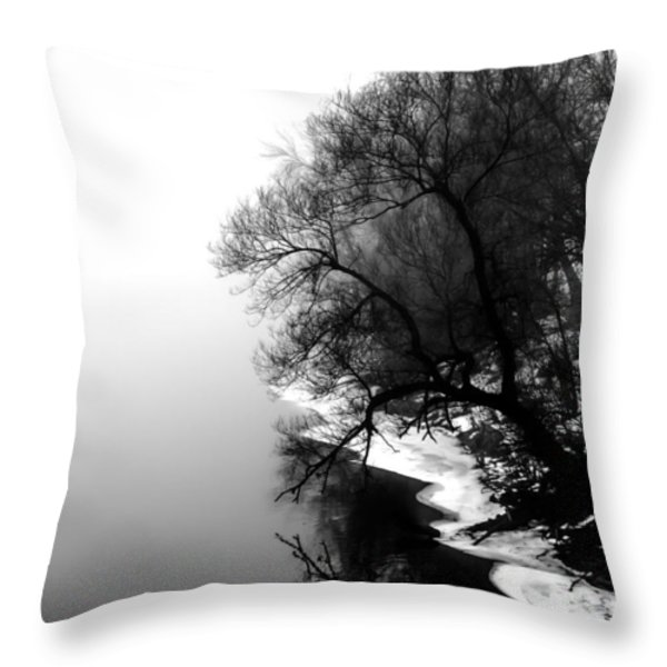 Whisper Throw Pillow by Bob Orsillo