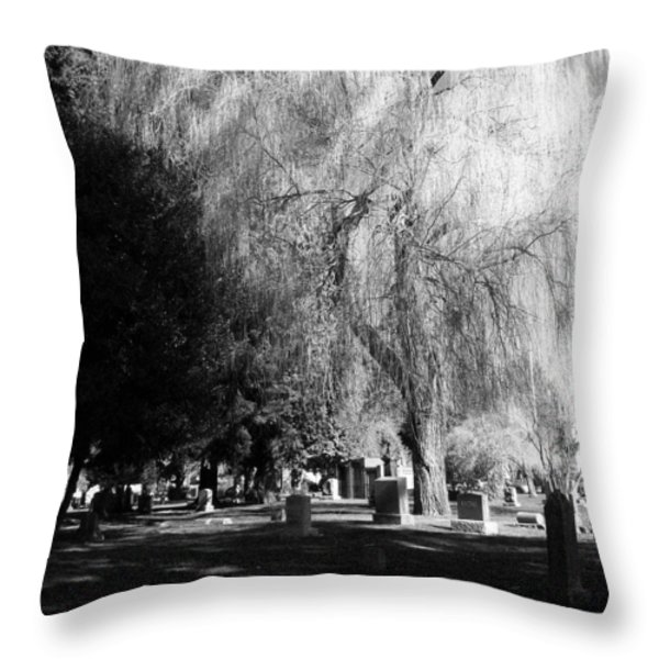 Whispering in the wind... Throw Pillow by Heather L Giltner
