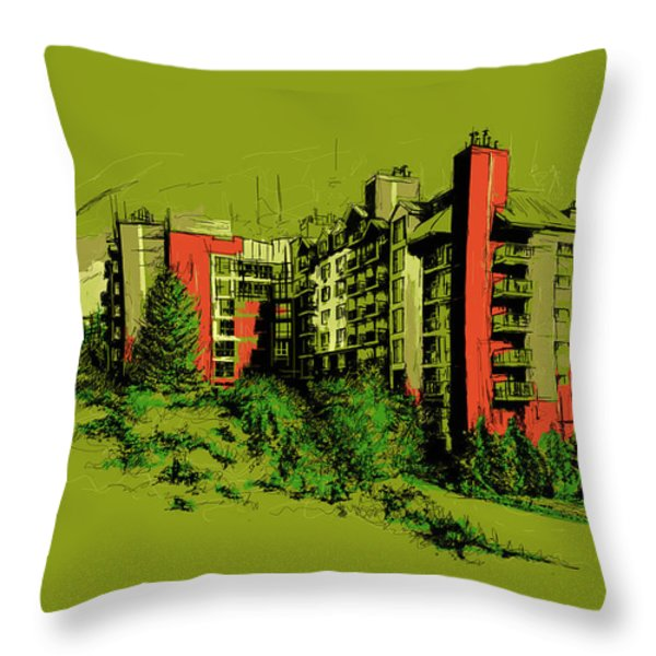 Whistler Art 003 Throw Pillow by Catf