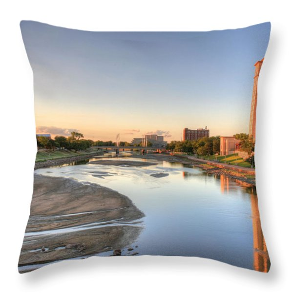 Wichita Throw Pillow by JC Findley
