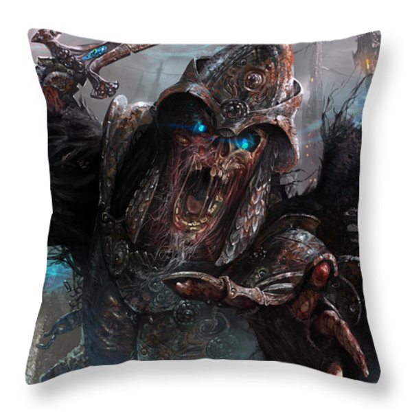 Wight Of Precinct Six Throw Pillow by Ryan Barger