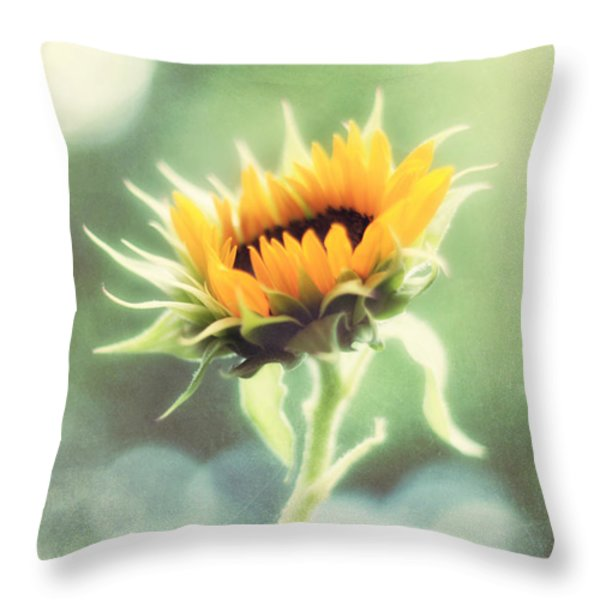 Wild and Free Throw Pillow by Amy Tyler