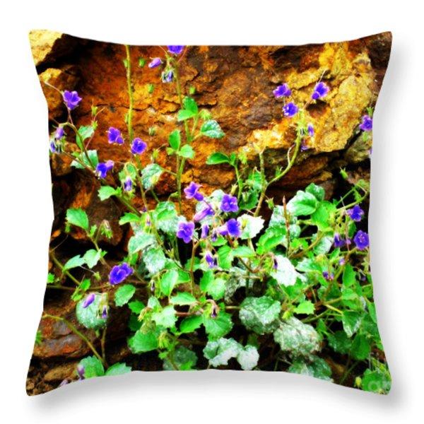 Wild Beauty Throw Pillow by Ana Lusi