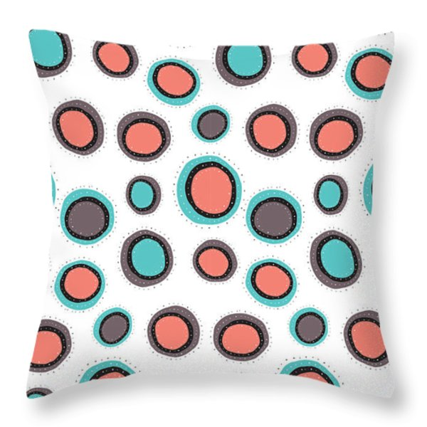 Wild Bounce Throw Pillow by Susan Claire