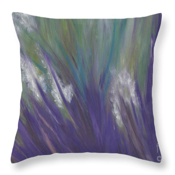 Wildflowers by jrr Throw Pillow by First Star Art