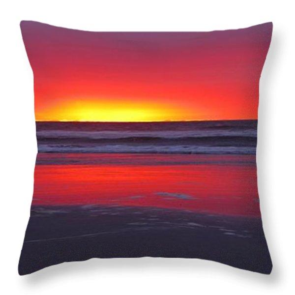 Wildwood Sunrise Dreaming Throw Pillow by David Dehner