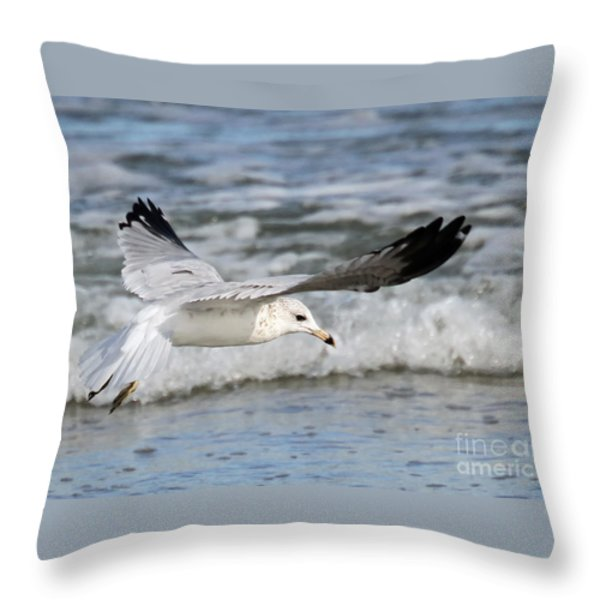 Wind Beneath My Wings Throw Pillow by Geoff Crego