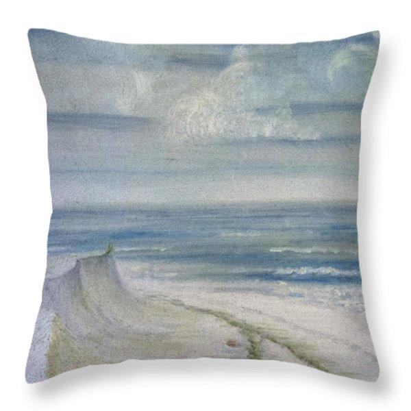 Windblown Throw Pillow by Judy Hall-Folde