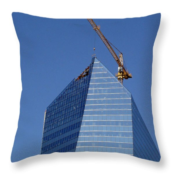 Window Dressing Throw Pillow by Lisa  Phillips