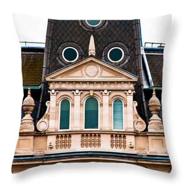 Windows To The Soul Throw Pillow by Christi Kraft