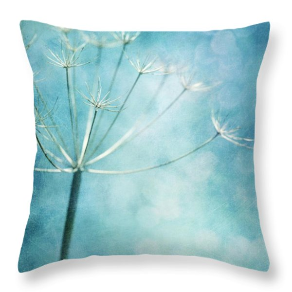 Winter Colors Throw Pillow by Priska Wettstein