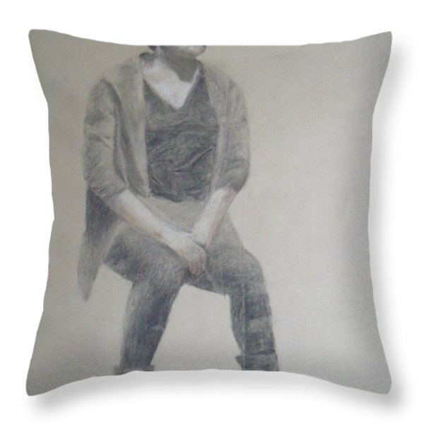 Winter Throw Pillow by Jessica Sanders