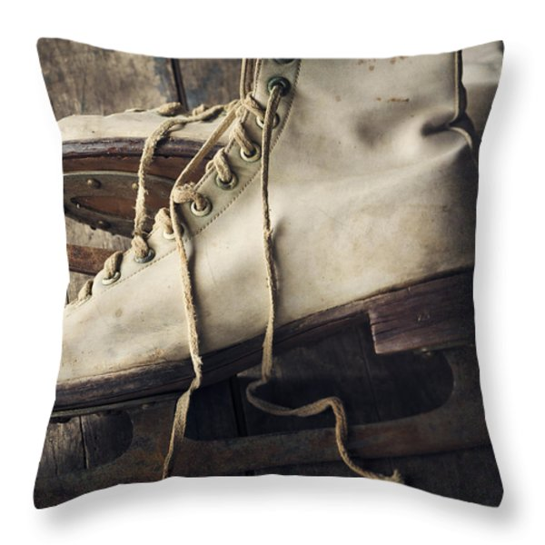 Winter Memories Throw Pillow by Amy Weiss