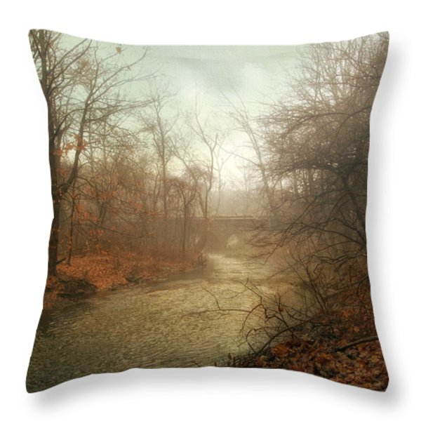Winter Mist Throw Pillow by Jessica Jenney