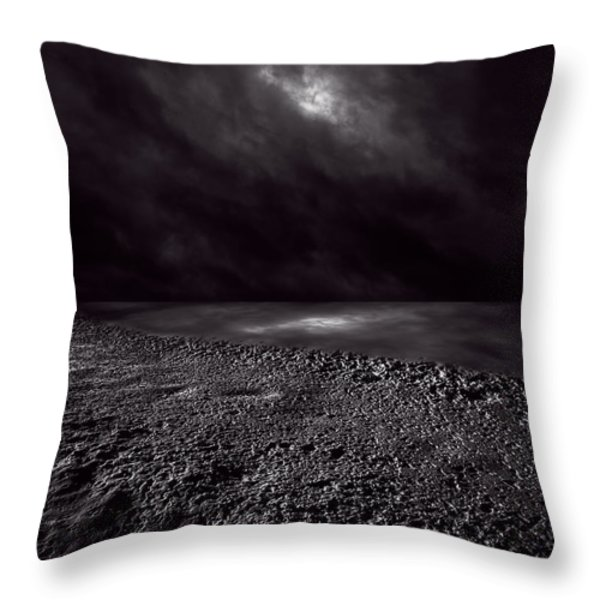 Winter Nightscape Throw Pillow by Bob Orsillo