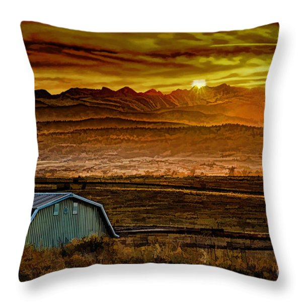 Winter Solstice Throw Pillow by Jon Burch Photography