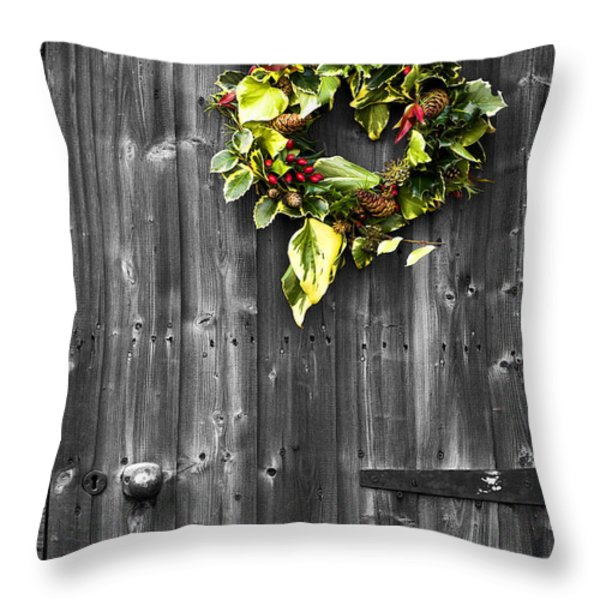 Winters Halo Throw Pillow by Malc McHugh