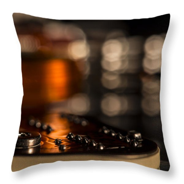 Wired Throw Pillow by Andrew Pacheco