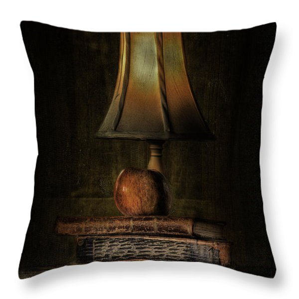 Wisdom Throw Pillow by Erik Brede