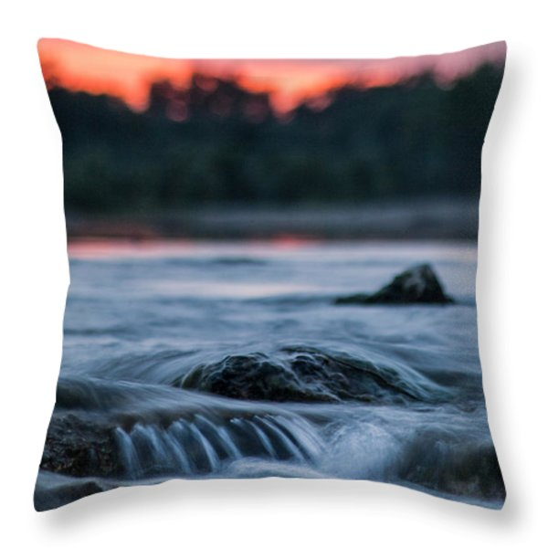 Wish You Are Here Throw Pillow by Davorin Mance