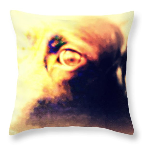 wish you were human Throw Pillow by Hilde Widerberg