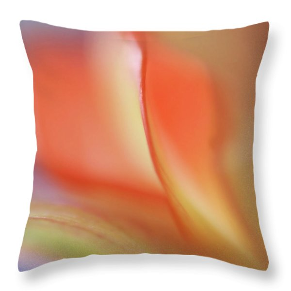 With Love Throw Pillow by Annie  Snel