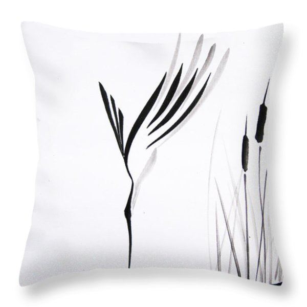 With Will And Determination Throw Pillow by Oiyee  At Oystudio
