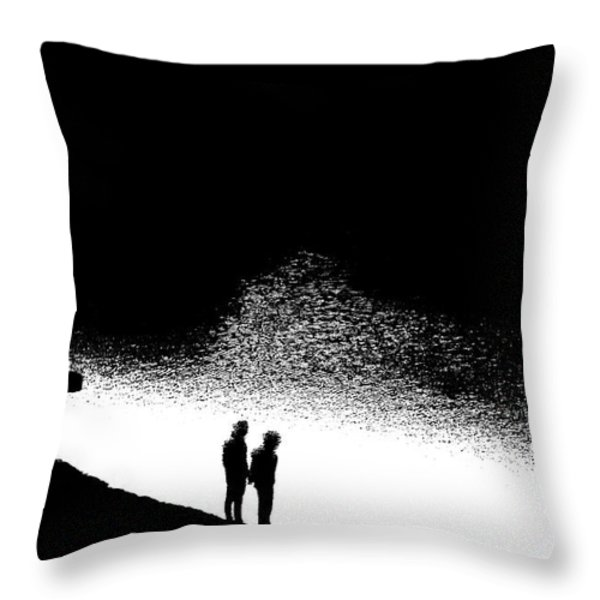 Without Throw Pillow by Nick David