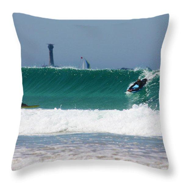 Wonderwall Throw Pillow by Terri  Waters