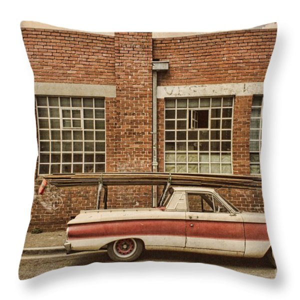Working Class Throw Pillow by Andrew Paranavitana