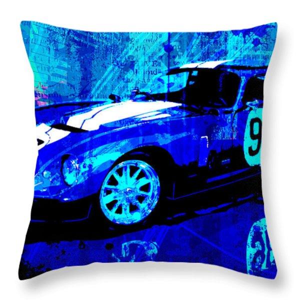 World Champion Throw Pillow by Gary Grayson